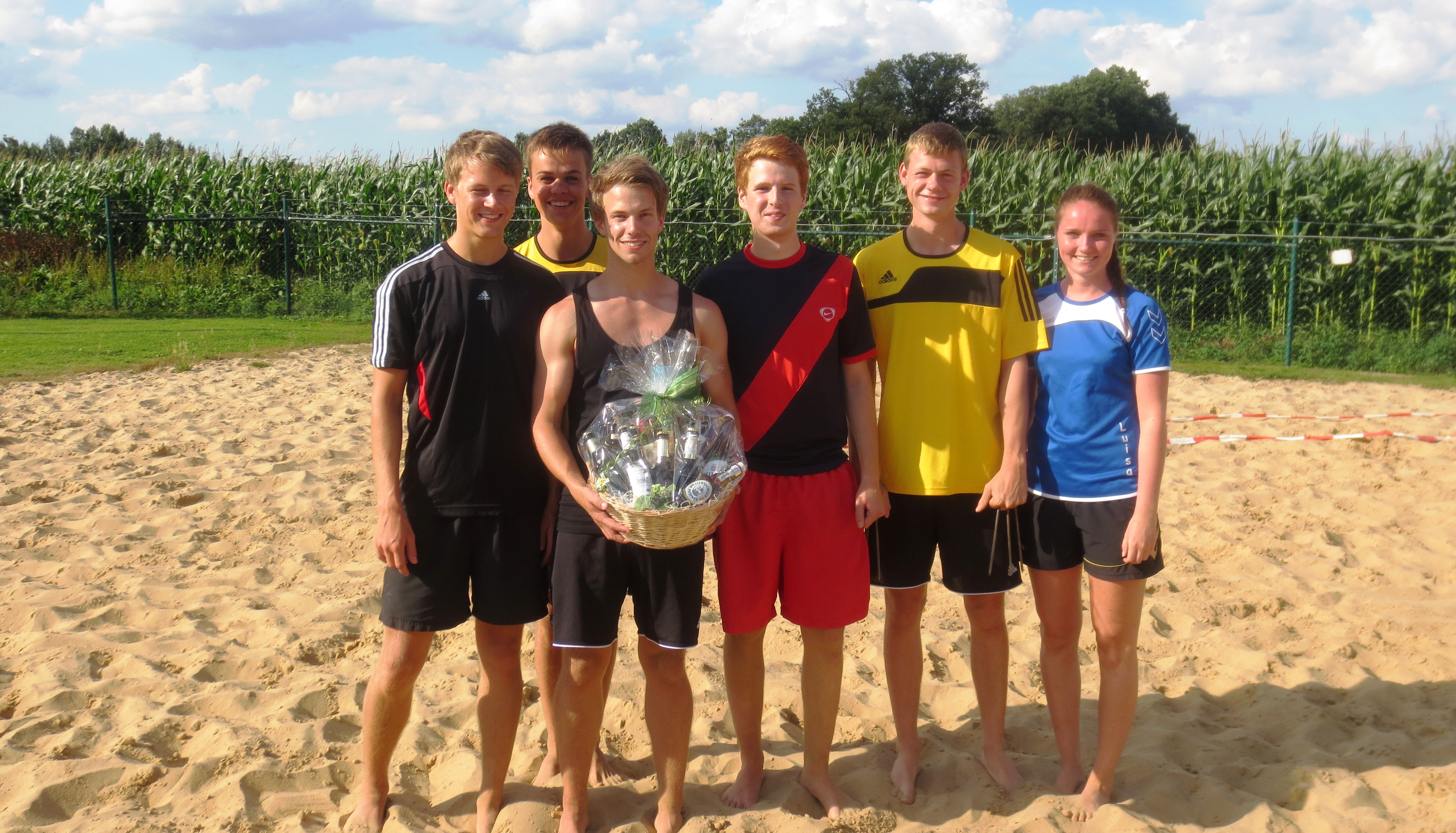 Das Siegerteam aus Lohne